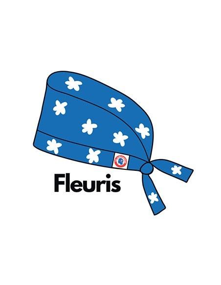 Calots de bloc couvrants fleuris