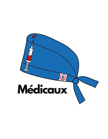 Calots de bloc couvrants motifs médicaux